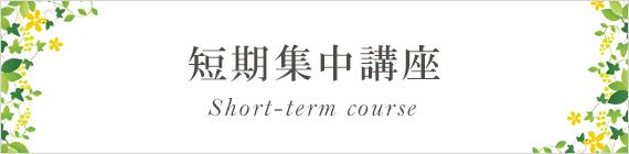 岡山のリンパドレナージュ・エステ・セラピストスクールならトータルビューティーカレッジヘ 短期集中講座