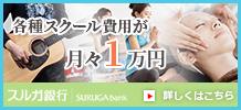 岡山のリンパドレナージュ・エステ・セラピストスクールならトータルビューティーカレッジヘ 各種スクール費用が月々1万円 スルガ銀行 詳しくはこちら
